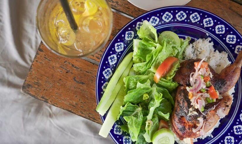 Lalap Ayam Balinais