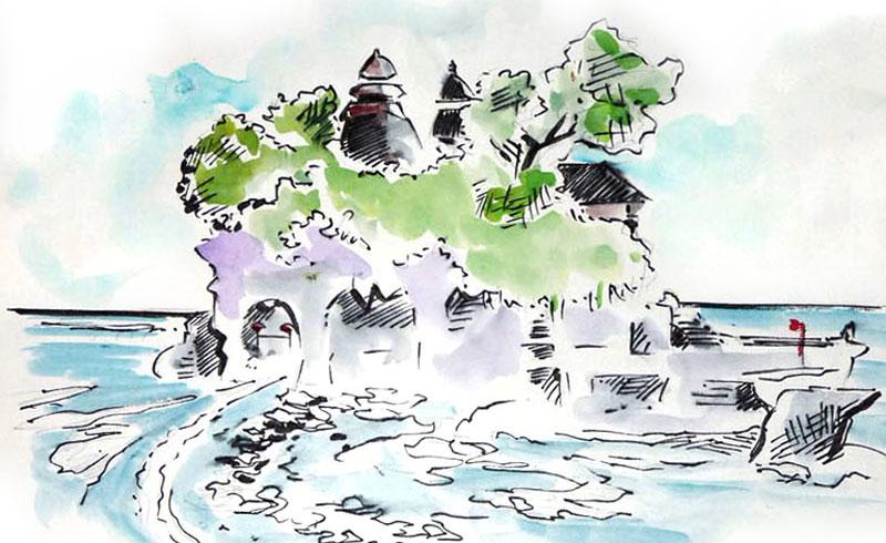 Le Pura Tanah Lot de Tabanan
