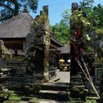 Candi bentar Gunung Kawi Bali