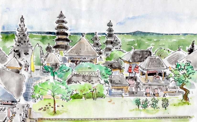 Le Sanctuaire de Besakih