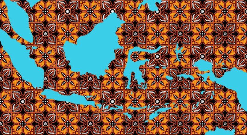 Tapisserie Batik Bali Indonésie