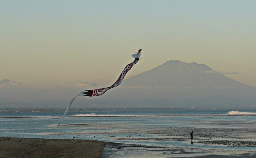 Cerf-volant à Sanur - Bali