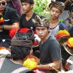Joueurs de gong à Bali
