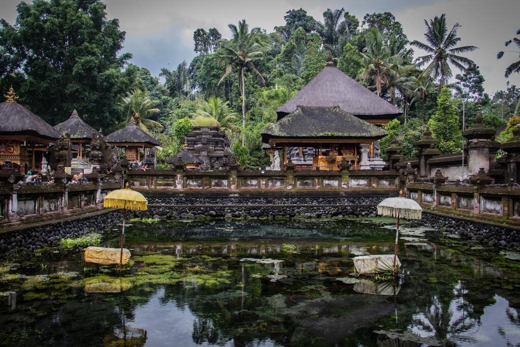 Le temple Tirta Empul de Tempaksiring