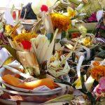 Offrandes pour un mariage balinais