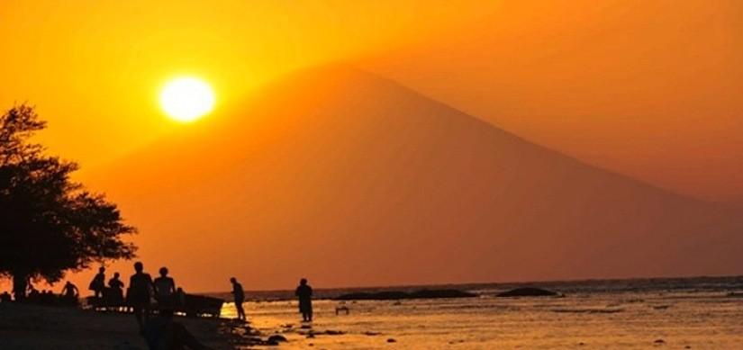 Le baiser du soleil - Bali