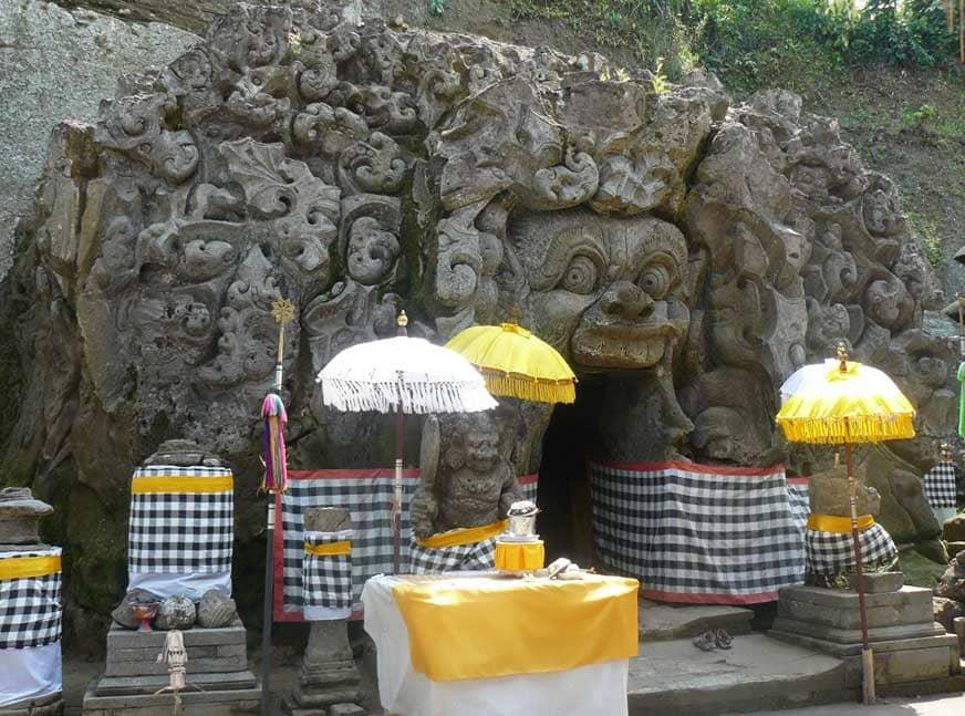 Goa Gajah Bedulu Ubud Bali