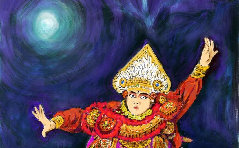 Danseur Baris tunggal - Bali