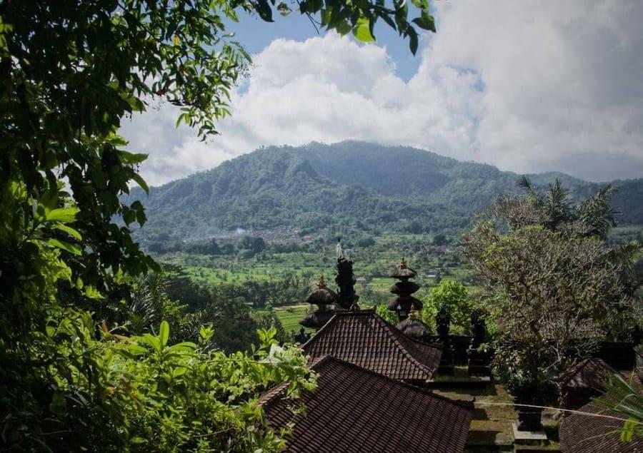 Pura Bukit à Sidemen