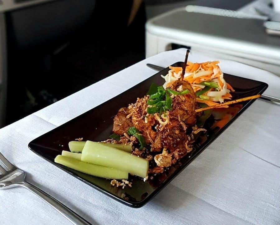 Ayam (poulet) et Kelapa (noix de coco) - Malaysia Airlines